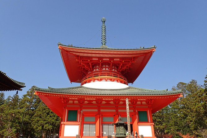 Mt.Koya 1-day walking tour (Round trip from Osaka)