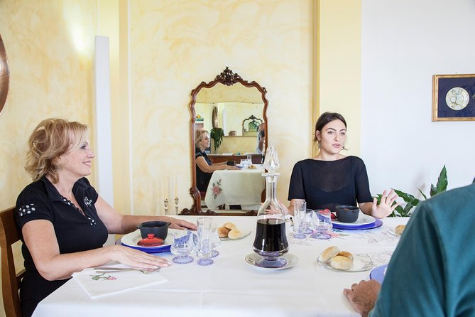 Lunch or dinner and cooking demo at a local home in Sassari
