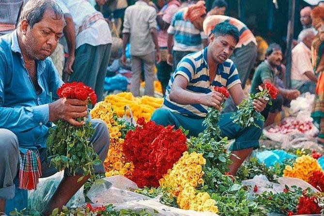 Mallick Ghat Flower Market Morning Walk Half Day Tour