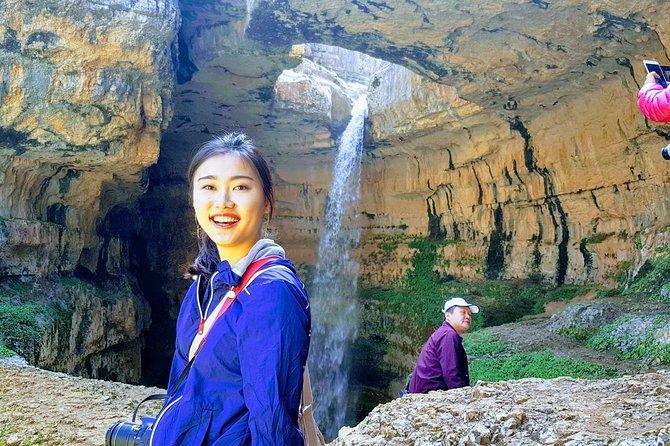 Private Car-Jeita Grotto, Harissa & Baatara Waterfall -Full Day tour From Beirut