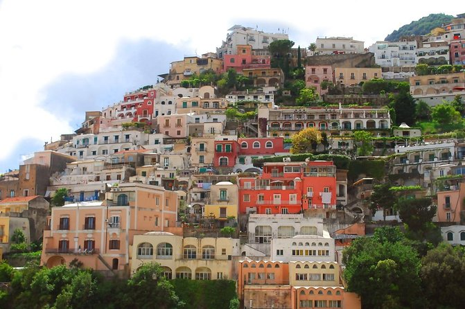 Direct Transfer from Hotel in ROME to Hotel in POSITANO (AMALFI COAST)