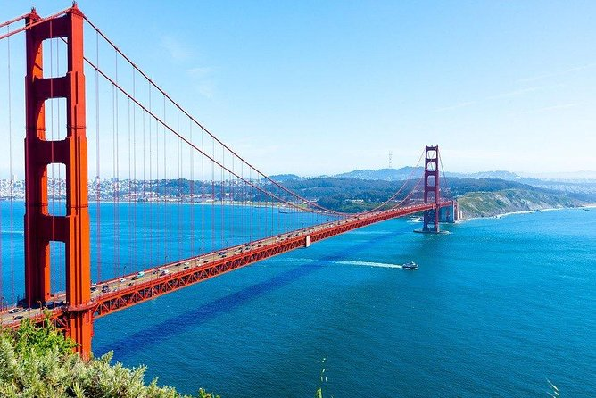 Private 4-hour city tour of San Francisco with driver/guide with Hotel Pick Up