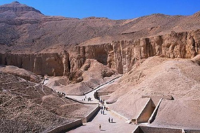 Luxor West Bank, Valley of the Kings and Hatshepsut Temple and Colossi of Memnon