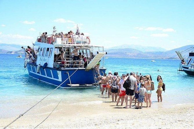 Full Day Boat Trip in Corfu with BBQ