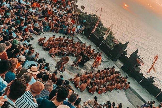 Kecak fire dance and uluwatu temple tour - free wifi