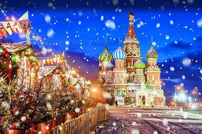 2020 New Year Moscow St Petersburg Vladimir Palace Flights 5* Hotels Full board
