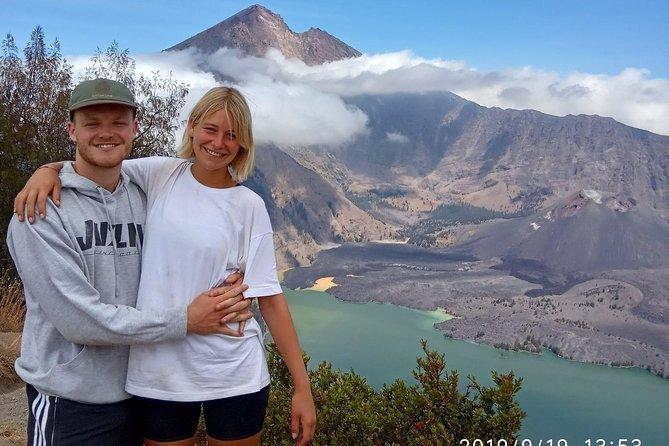 Mount rinjani summit trekking to the sunrise point 3726m ( 2Days 1Night )