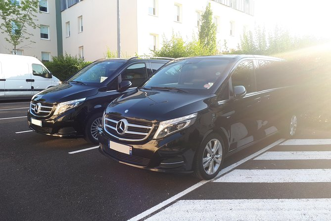 Private transfer from CDG airport to PARIS city