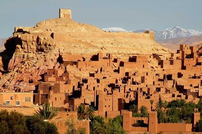 Ouarzazate and Ait Ben Haddou, full day tour from Marrakech.