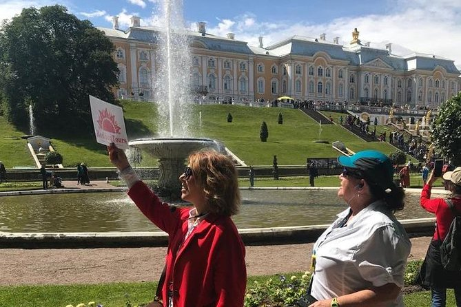 Catherine Palace and Peterhof Palace & Gardens Tour in St Petersburg