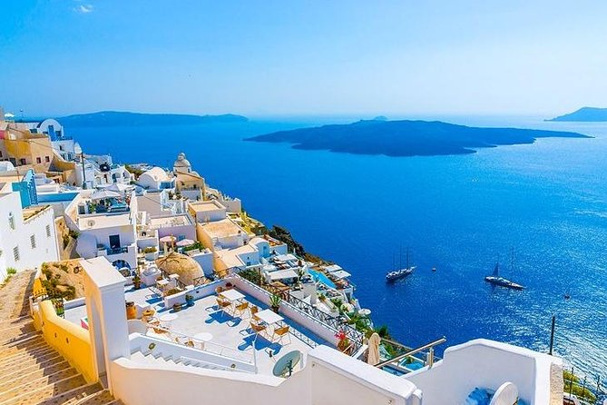 Private 5hrs Morning Trip to from Santorini to Volcano & Aspronisi