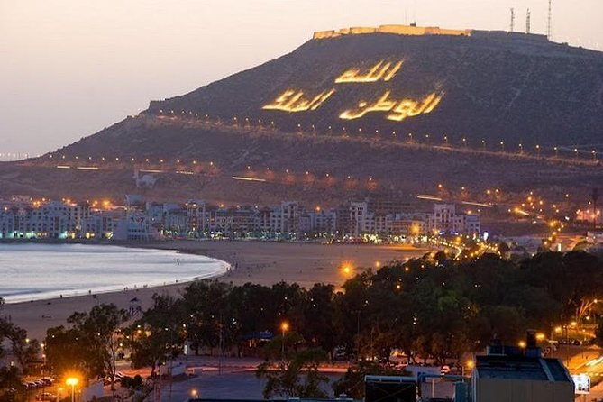 Marrakech to Agadir City or Airport, private transfer
