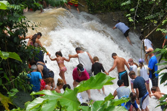 Blue Hole and Dunn's River Falls from Montego Bay