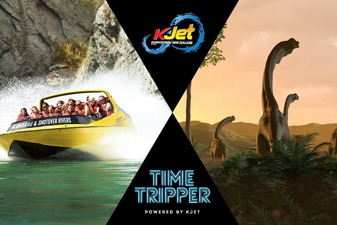 Queenstown Jet Boat Trip & Time Tripper Combo (Oct - March)
