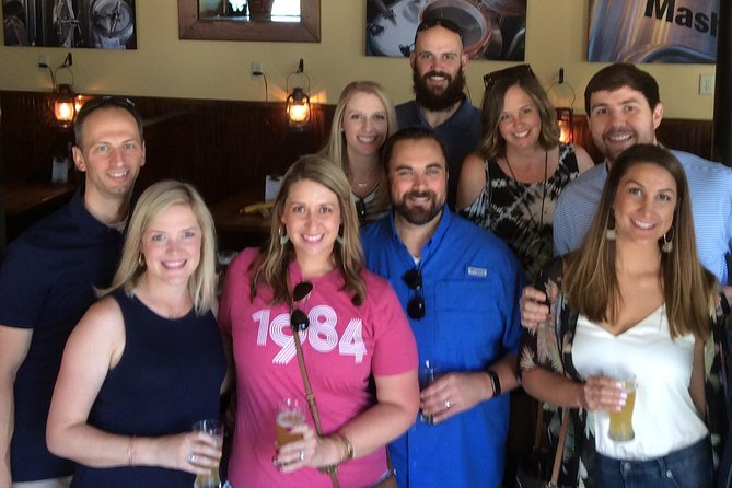 Shared 4 Hour Chattanooga Brewery Walking Tour with Beer Tastings