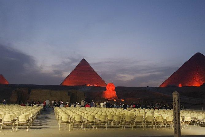 Sound & Light Show of Giza Pyramids with dinner