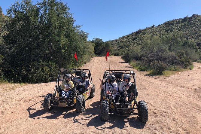 2 Person Guided U-Drive ATV Sand Buggy Tour Scottsdale/Phoenix photo 11
