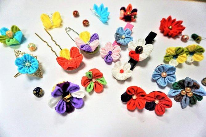 "Traditional Japanese Craft Experience -- ""Tsumami-Zaiku"" Accessory"