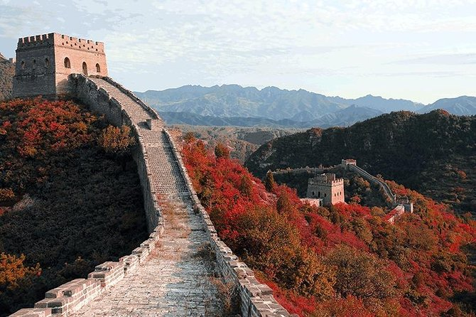 China Wild Great Wall Medium Level Hiking Tour in Beijing
