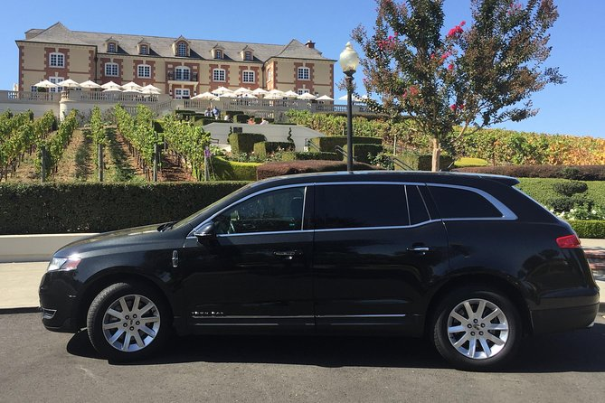 Sonoma Or Napa Valley Wine Tours in Private Sedan - 6 Hours