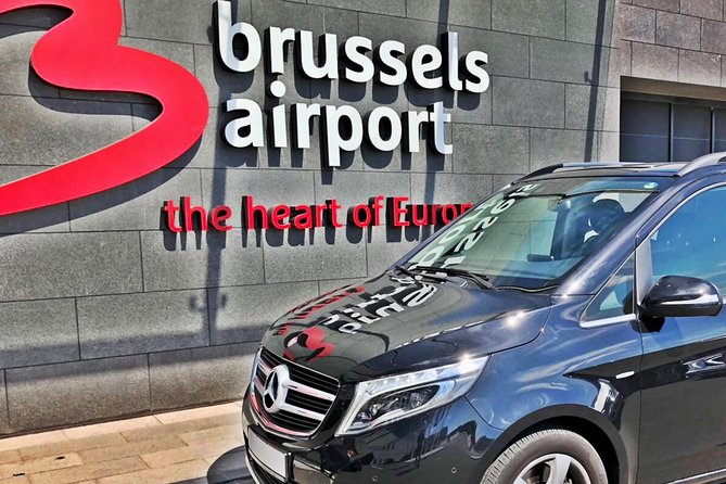 Private transfer from Brussels Airport <-> Bruges MB V-CLASS 7 PAX