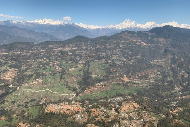 Everest Scenic Flight by plane from Kathamdnu explore Himalayas range in Neapl