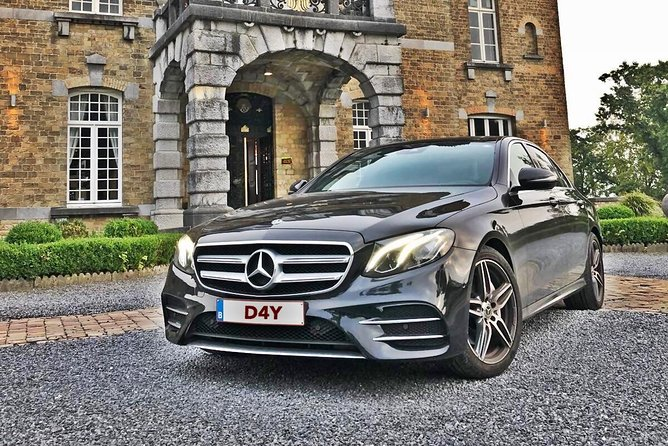 Airport Transfer Brussels Airport <-> City Center MB E Class 1-3 PAX