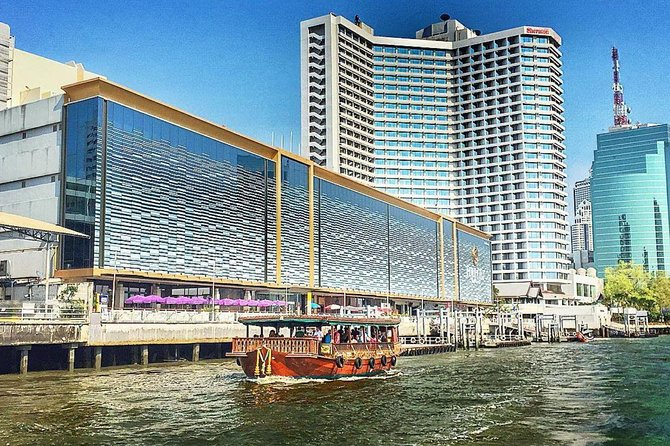 Venice of the East : Rice Barge River Cruise in Bangkok Admission Ticket