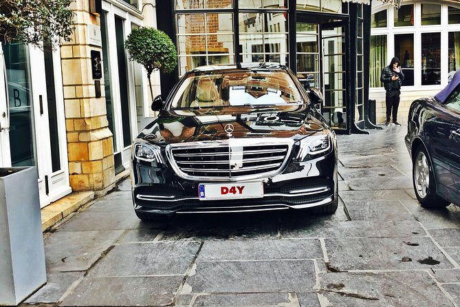 Private transfer from Brussels Airport <-> Antwerp MB S-CLASS 3 PAX
