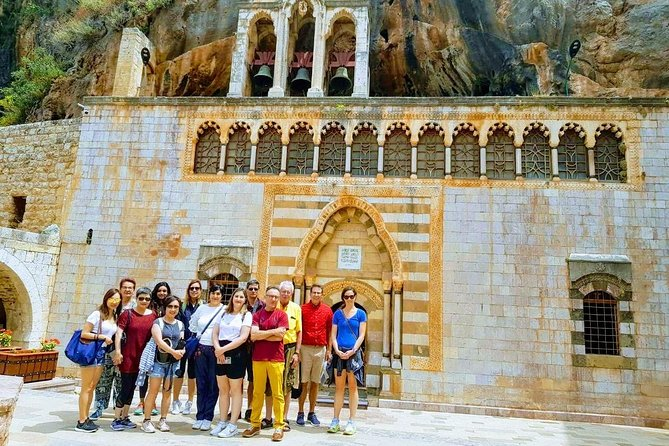 Small-Group Tour to Baalbek, Cedars and St Anthony Qozhaya with Lunch included