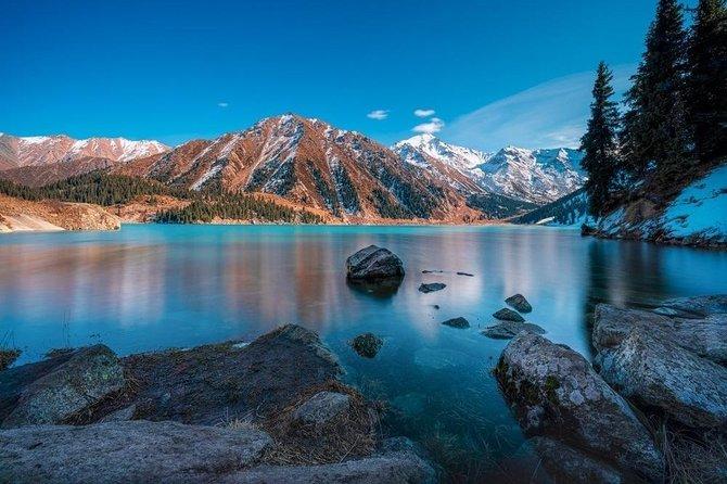 5-6 hours private tour Big Almaty Lake + Falcon Farm