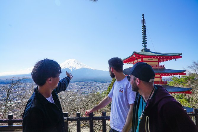 Mt. Fuji Viewpoint & Nature Adventure 1-Day Bus Tour from Tokyo