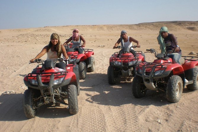 Sunset Quad Bike Safari Tour from Luxor Hotel or Nile Cruise