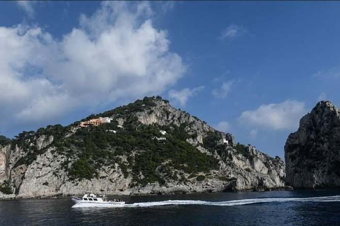 Capri Boat Experience with Private Boat from Sorrento