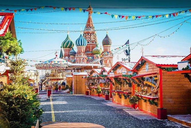 8 Days Hotel 5* Moscow Petersburg Flight Paris Russia New Year Vladimir Palace Full board