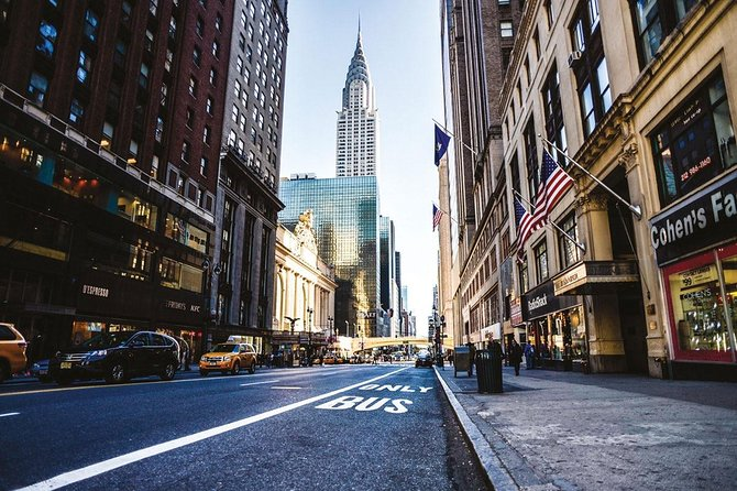 Treasure hunt in Midtown with New York in French