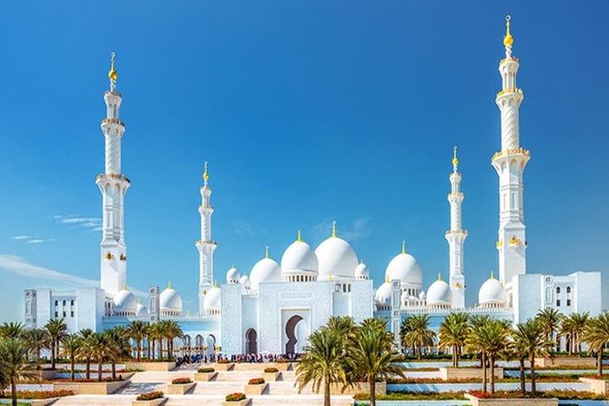 Abu Dhabi City Tour with Desert Safari Adventure
