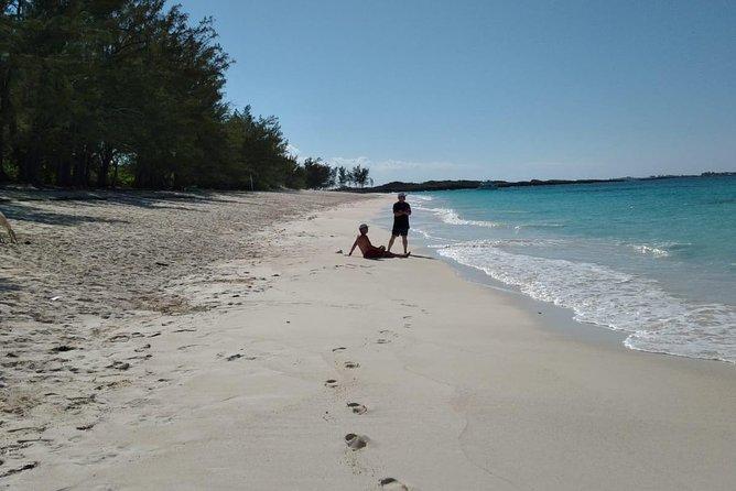 Sail to Beautiful Rose Island Beach
