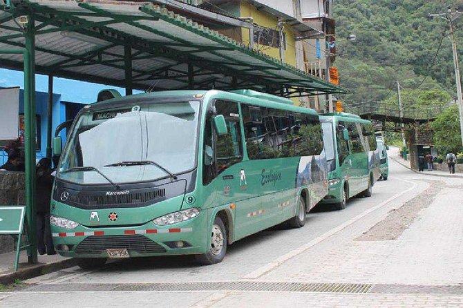 Bus ticket - Aguas Calientes - Machu Picchu