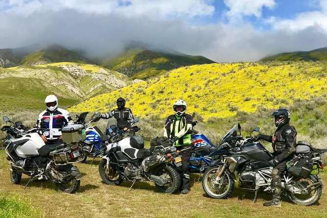 Cowboys & Coyotes Adventure Motorcycle Tour Out of Ojai - Mainly Paved Roads