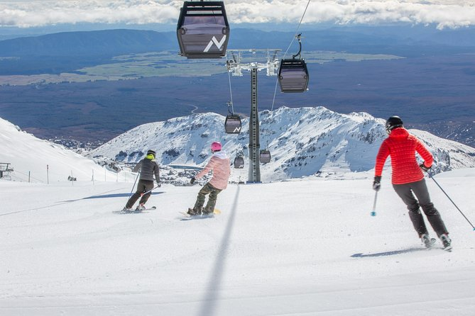 1 Day All Mountain Lift Pass Mt Ruapehu