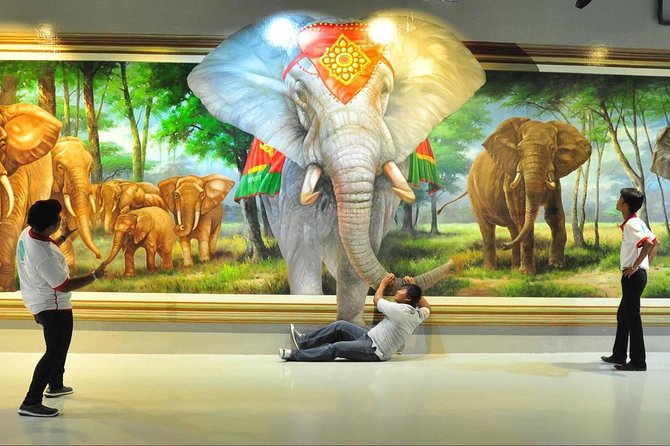 Art In Paradise 3D in Bangkok Admission Ticket