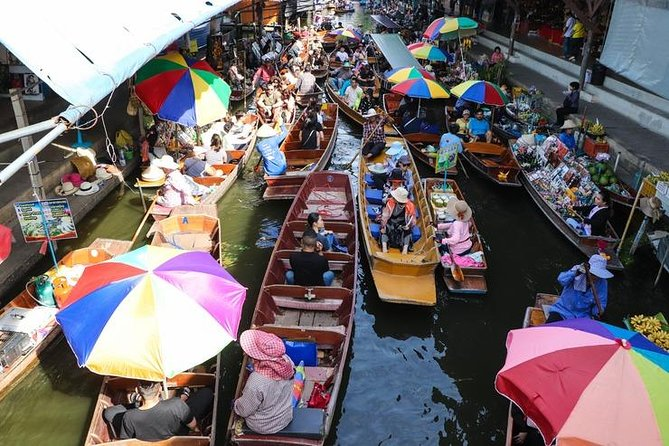 Floating market private tour