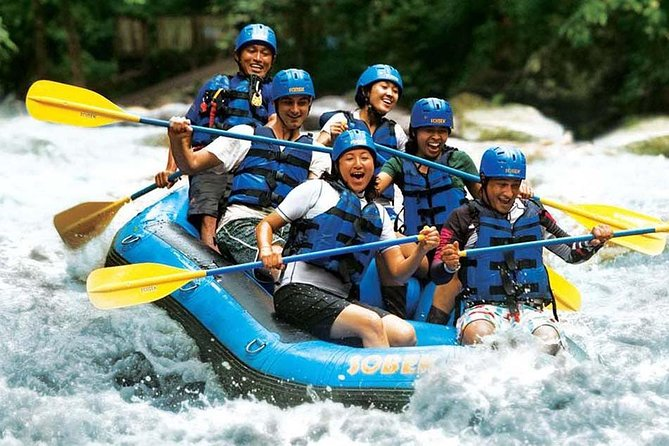 Amazing White Water Rafting at Ayung River Ubud