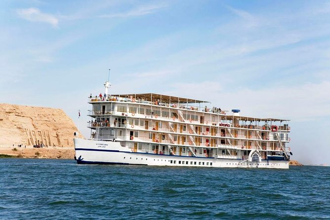 4-Days Cruise Aswan To Luxor and Abu Simbel by train from Cairo rounded trip