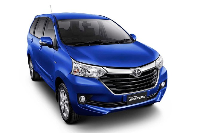 Car Rental With Driver - Toyota Avanza
