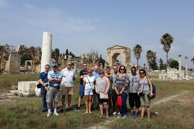 Small Daily Tours from Beirut to Sidon, Tyre and Maghdouché with Lunch