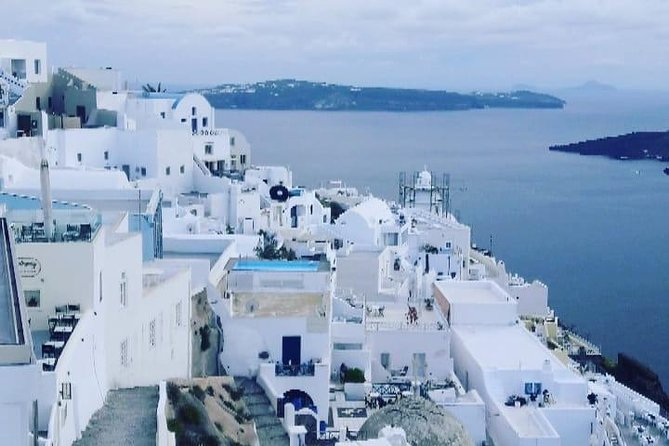 Full-Day Trip to Santorini island by Boat from Ag.Nikolaos Elounda with Transfer