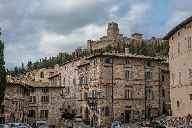 Private Transfer from Accommodation in ROME to Accommodation in ASSISI