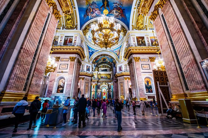 Visit Hermitage Museum & City Tour with St Isaac's Cathedral